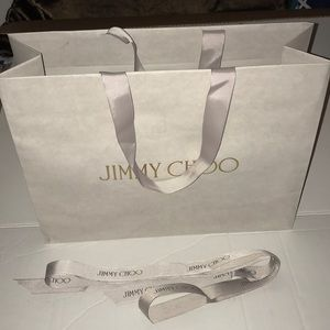 Jimmy Choo paper bag